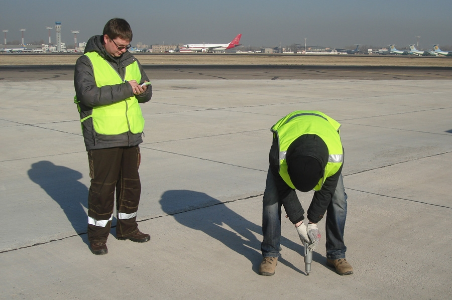 Nondestructive testing for concrete strength