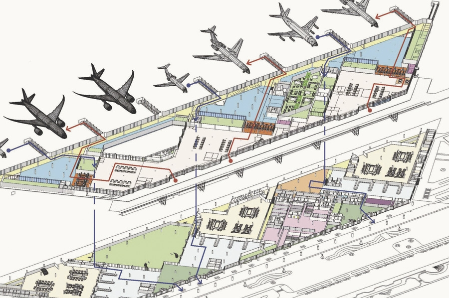 Concept Design of Sochi Airport to the Olympic Games in 2014
