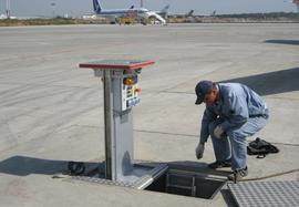 Utilities and Networks on the Apron