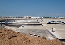 New Apron of Business Airport