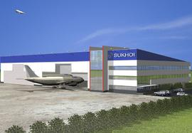 Sukhoi Superjet 100 Aircraft Delivery Center